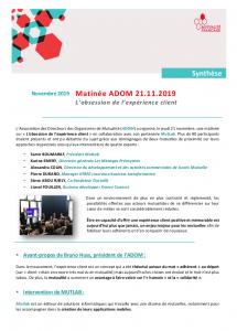 Matinée ADOM 21/11/2019